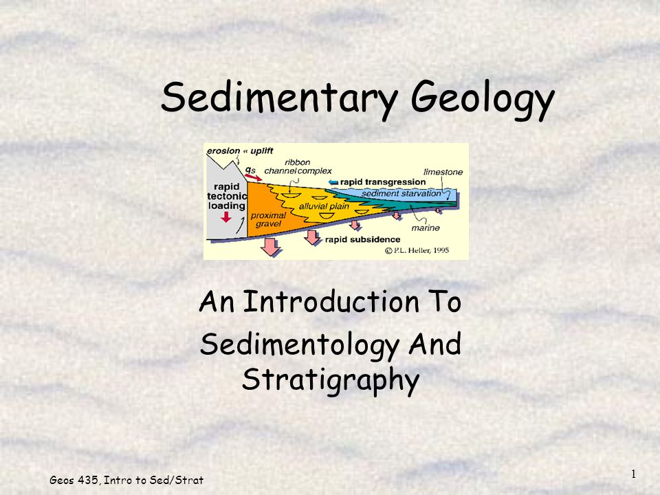 An Introduction To Sedimentology And Stratigraphy