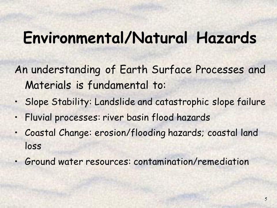 Environmental/Natural Hazards