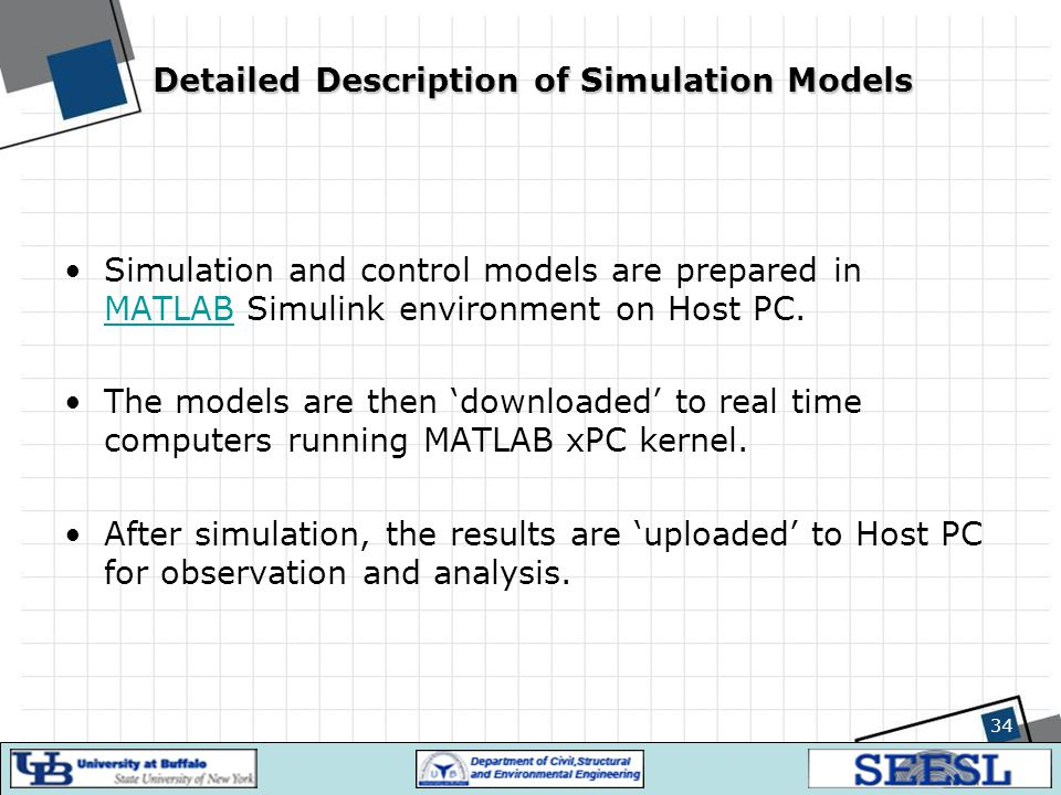Detailed Description of Simulation Models