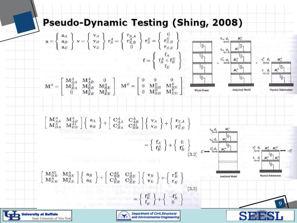 Pseudo-Dynamic Testing (Shing, 2008)