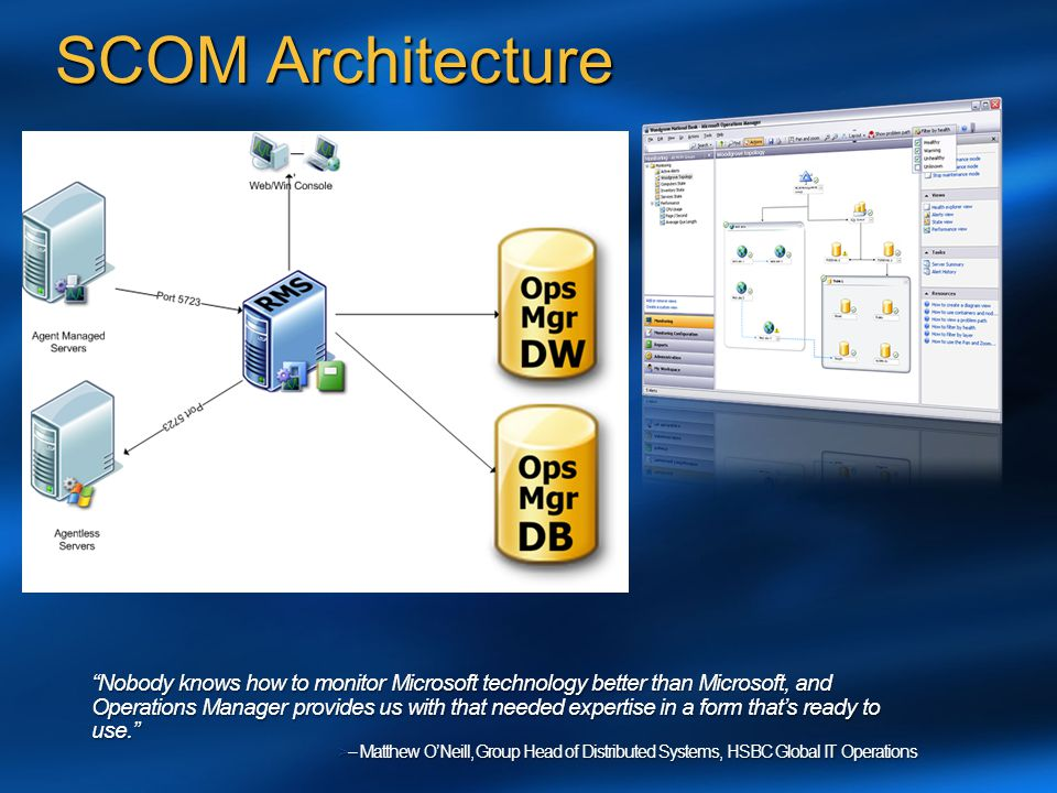 SCOM Architecture