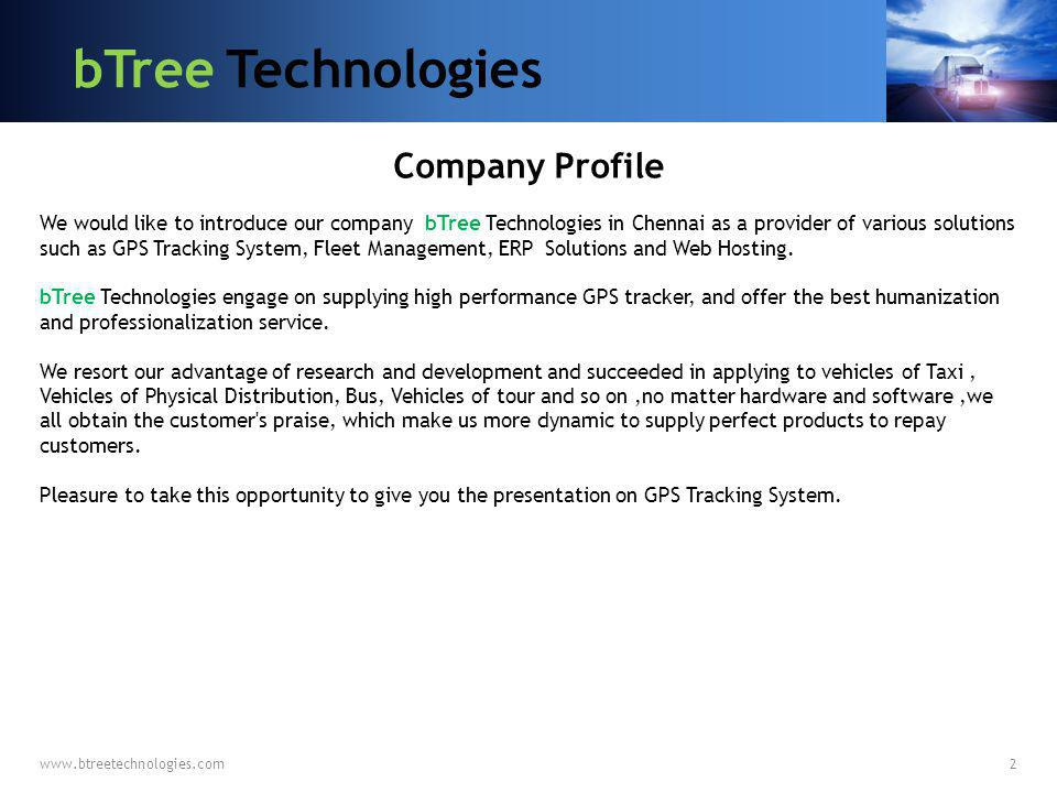 bTree Technologies Company Profile