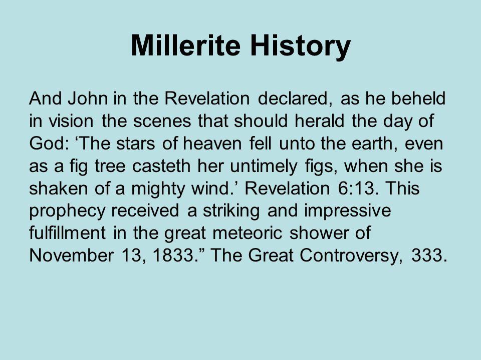 Millerite History