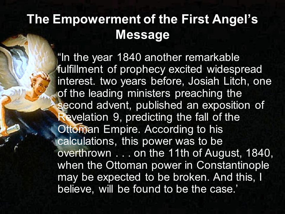 The Empowerment of the First Angel's Message