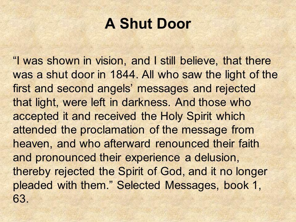 A Shut Door