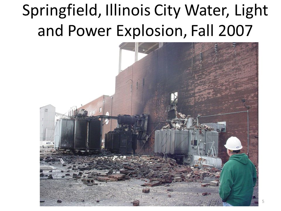 Springfield, Illinois City Water, Light and Power Explosion, Fall 2007