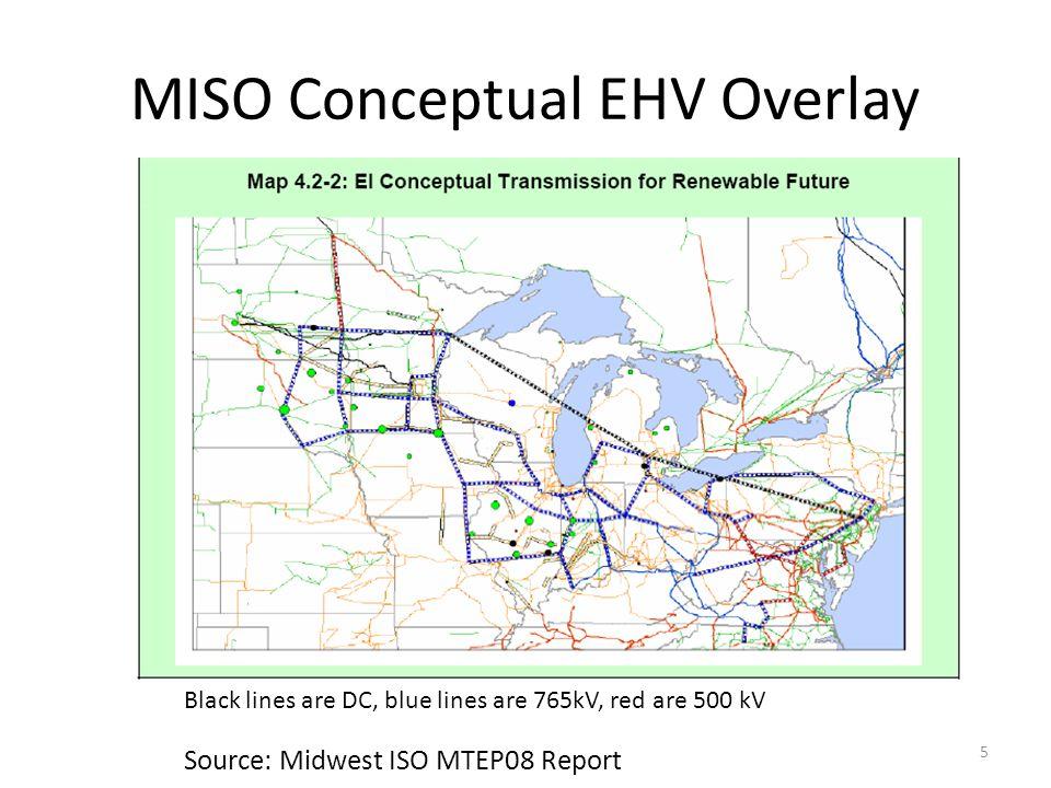 MISO Conceptual EHV Overlay