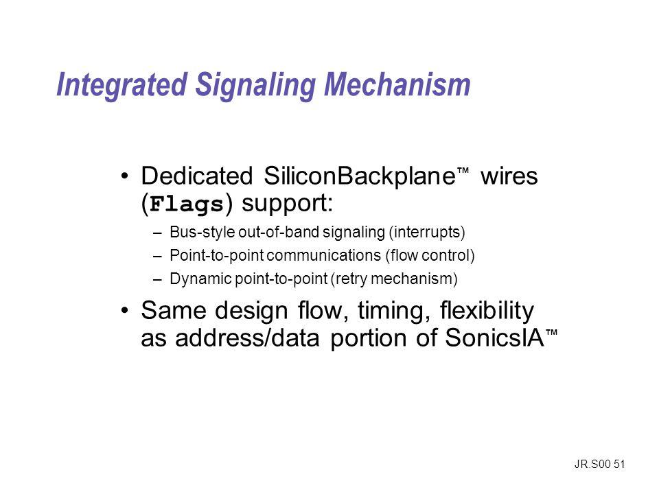 Integrated Signaling Mechanism