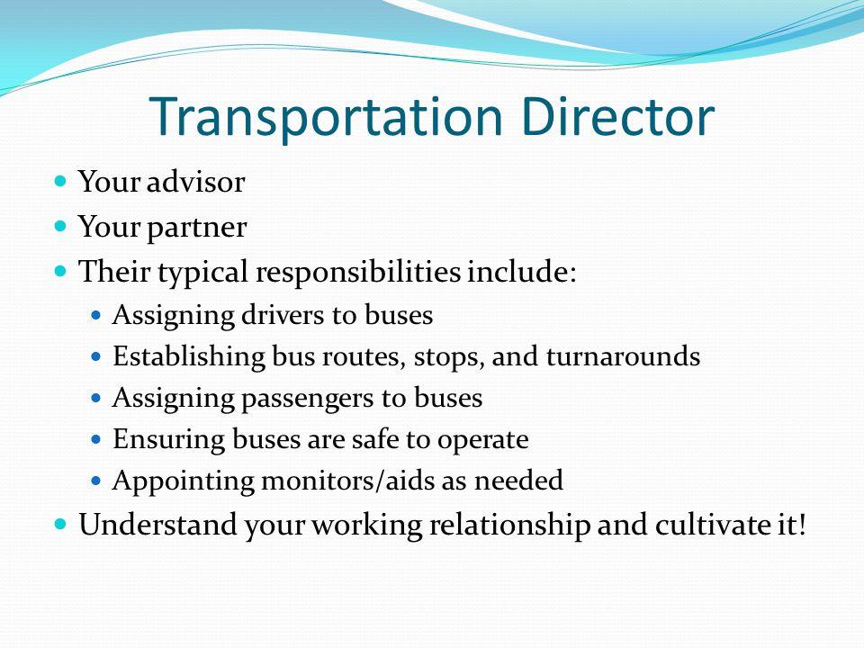 Transportation Director