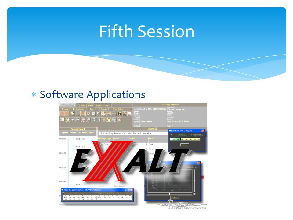Fifth Session Software Applications