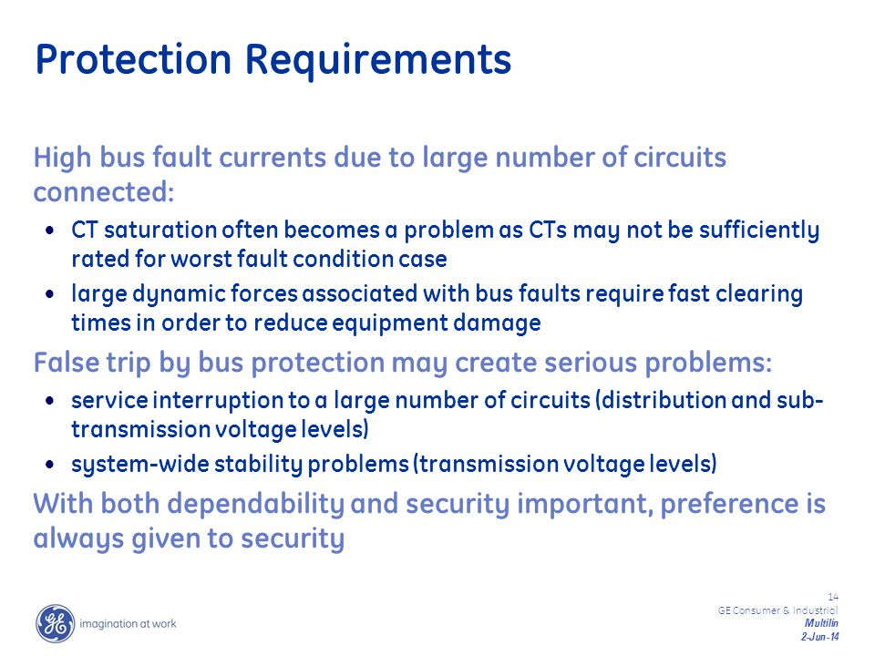 Protection Requirements
