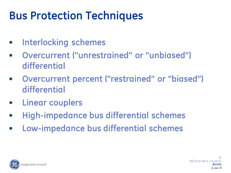 Bus Protection Techniques