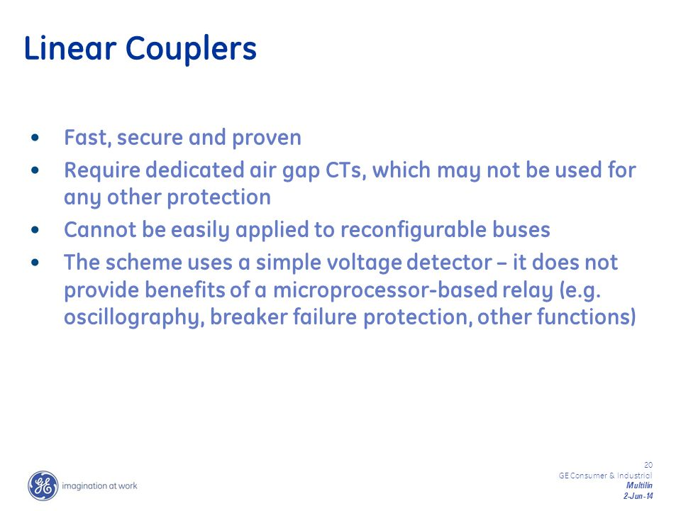 Linear Couplers Fast, secure and proven