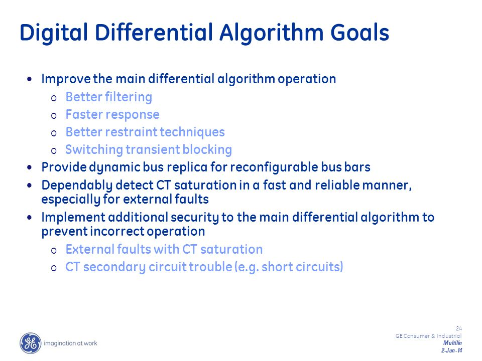 Digital Differential Algorithm Goals