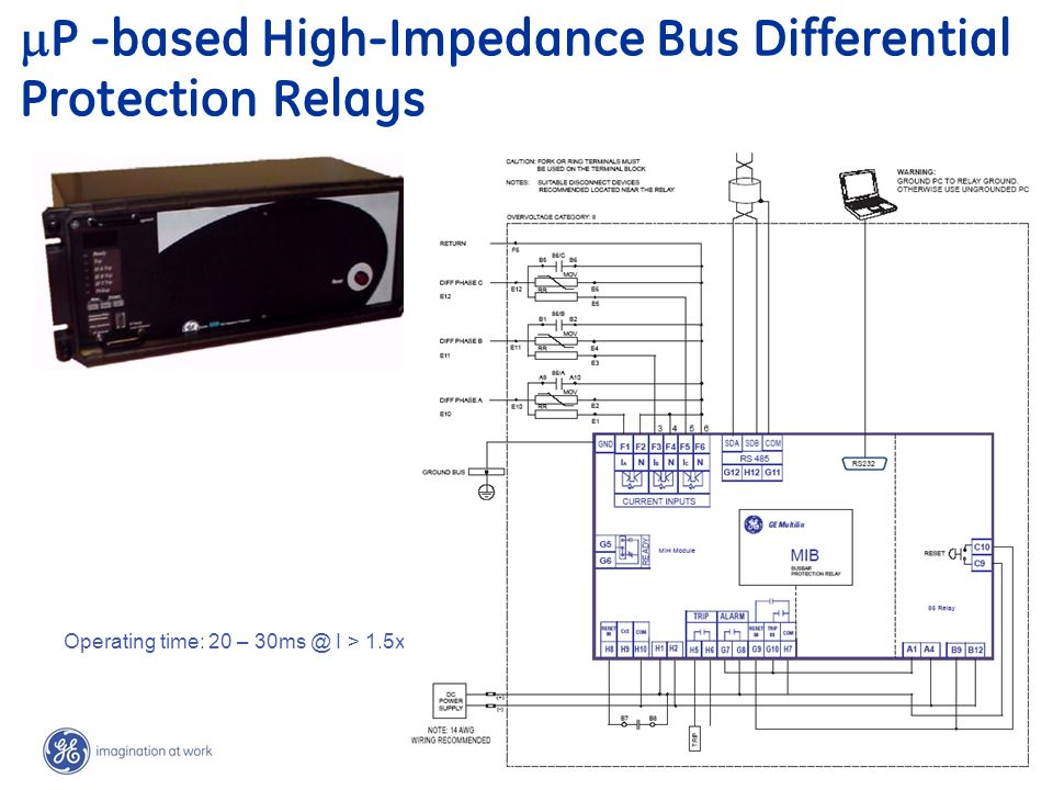 P -based High-Impedance Bus Differential Protection Relays