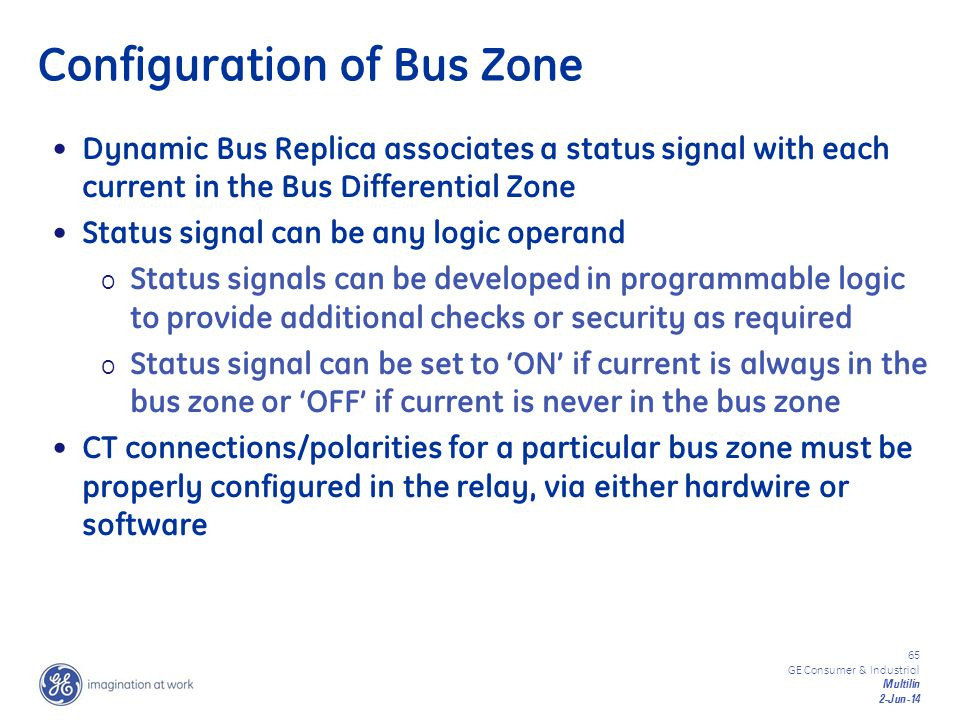 Configuration of Bus Zone