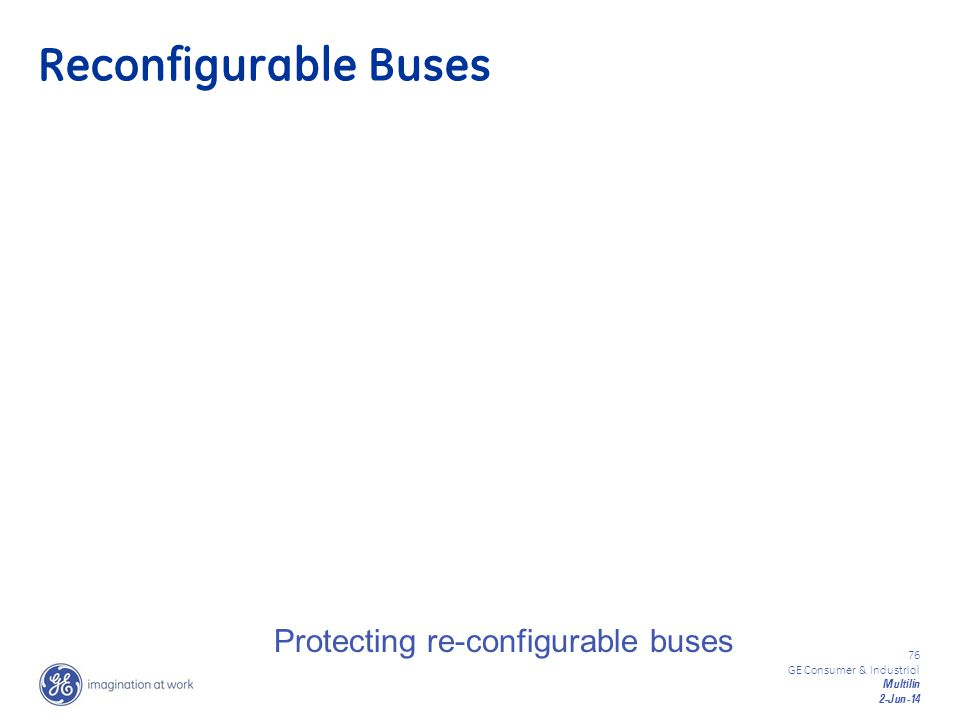Reconfigurable Buses Protecting re-configurable buses