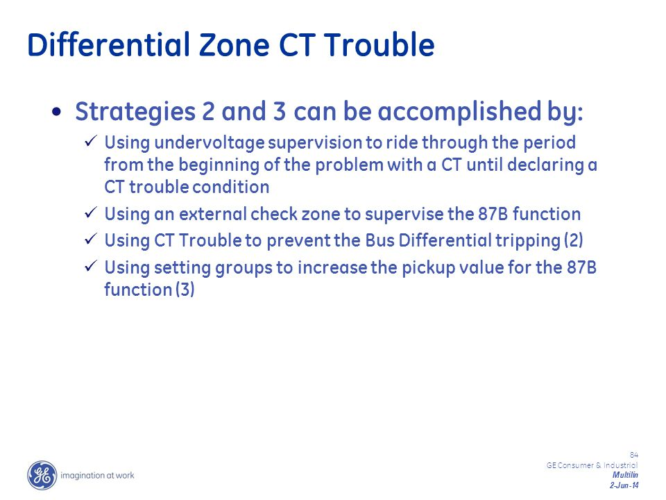 Differential Zone CT Trouble
