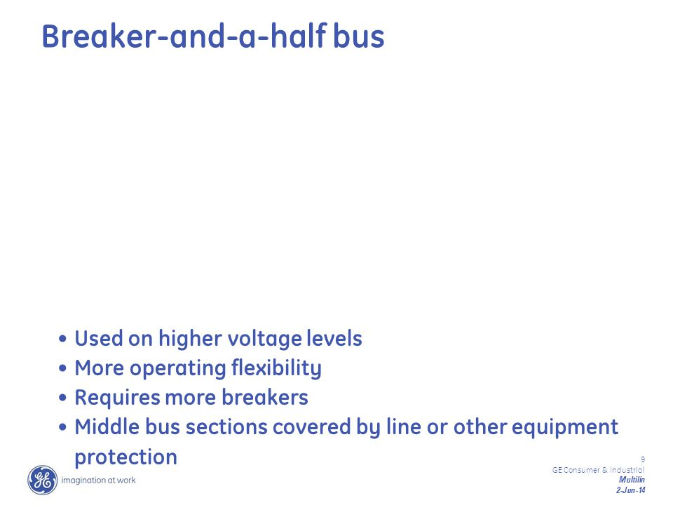 Breaker-and-a-half bus