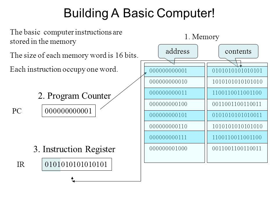 Building A Basic Computer!
