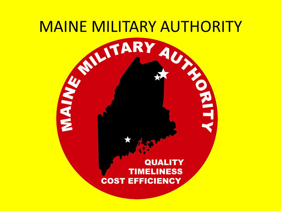 MAINE MILITARY AUTHORITY