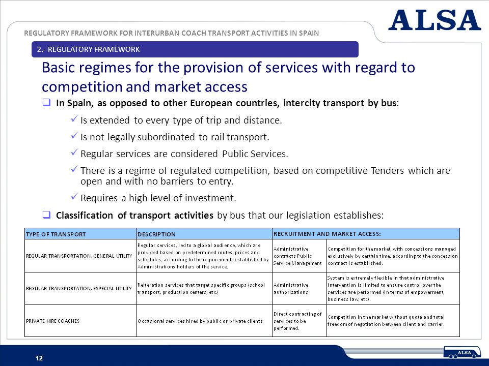2.- REGULATORY FRAMEWORK