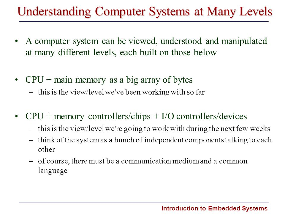 Understanding Computer Systems at Many Levels