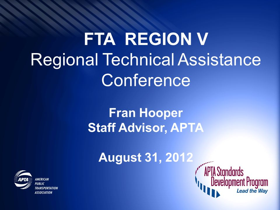 Regional Technical Assistance Conference
