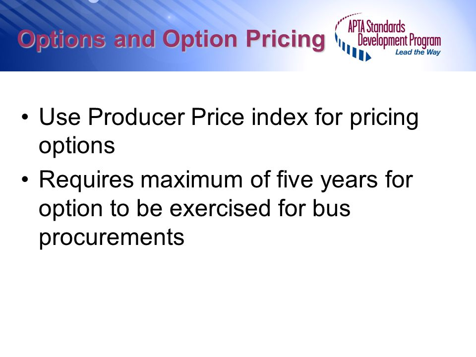 Options and Option Pricing