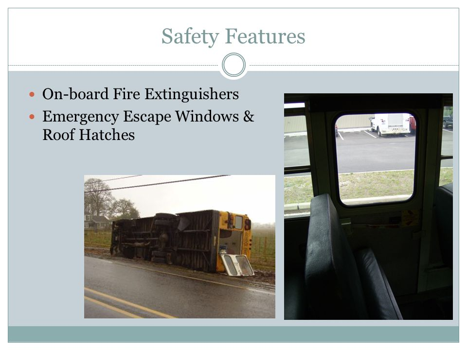 Safety Features On-board Fire Extinguishers