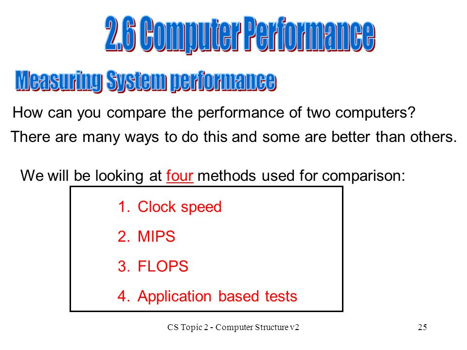 Measuring System performance