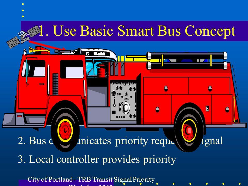 1. Use Basic Smart Bus Concept