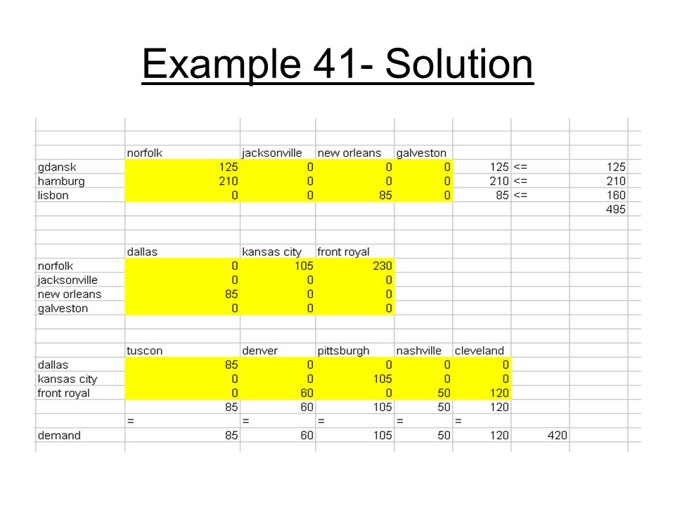 Example 41- Solution