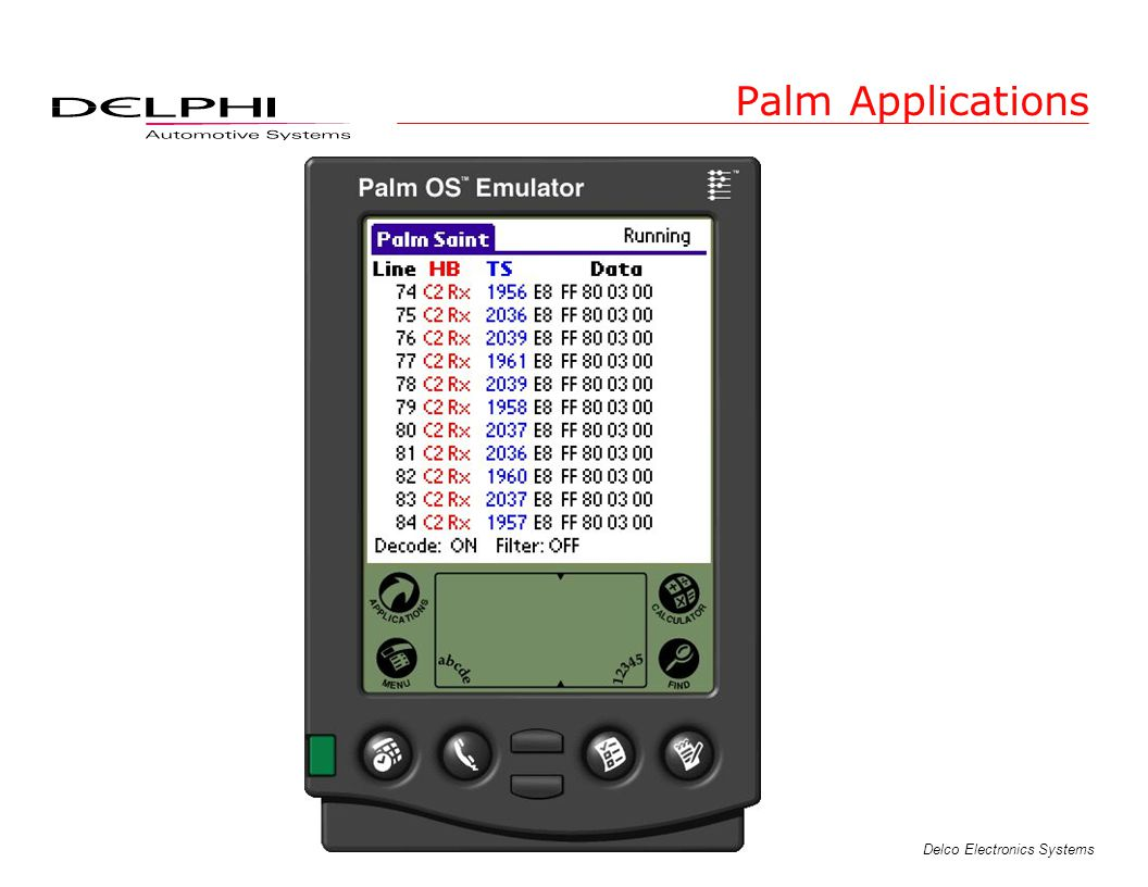 Palm Applications
