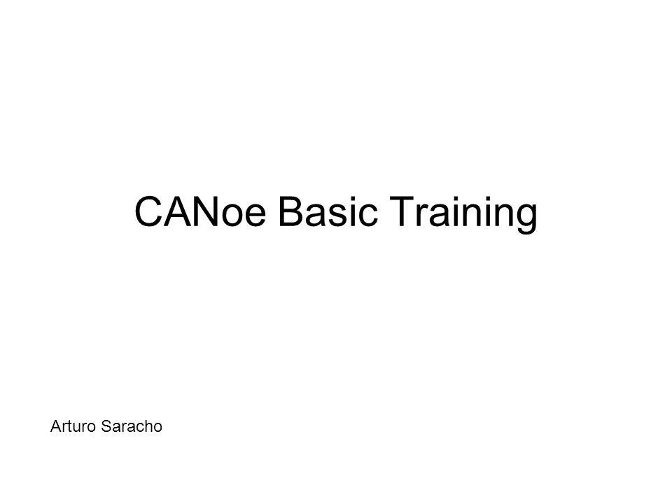 CANoe Basic Training Arturo Saracho Arturo Saracho