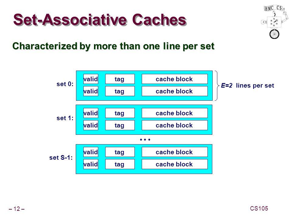Set-Associative Caches