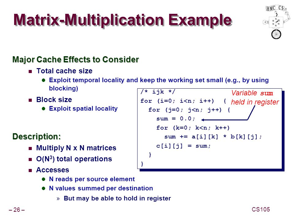 Matrix-Multiplication Example