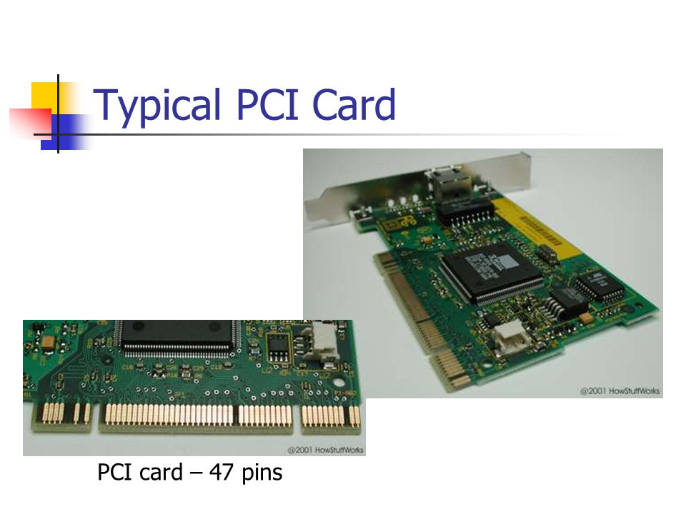 Typical PCI Card