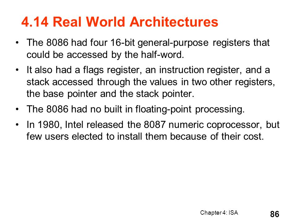 4.14 Real World Architectures