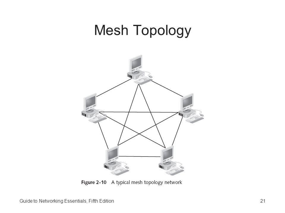 Mesh Topology Guide to Networking Essentials, Fifth Edition