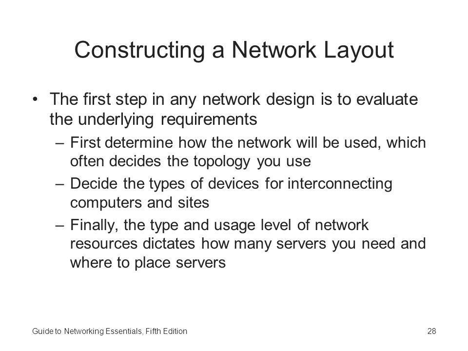 Constructing a Network Layout