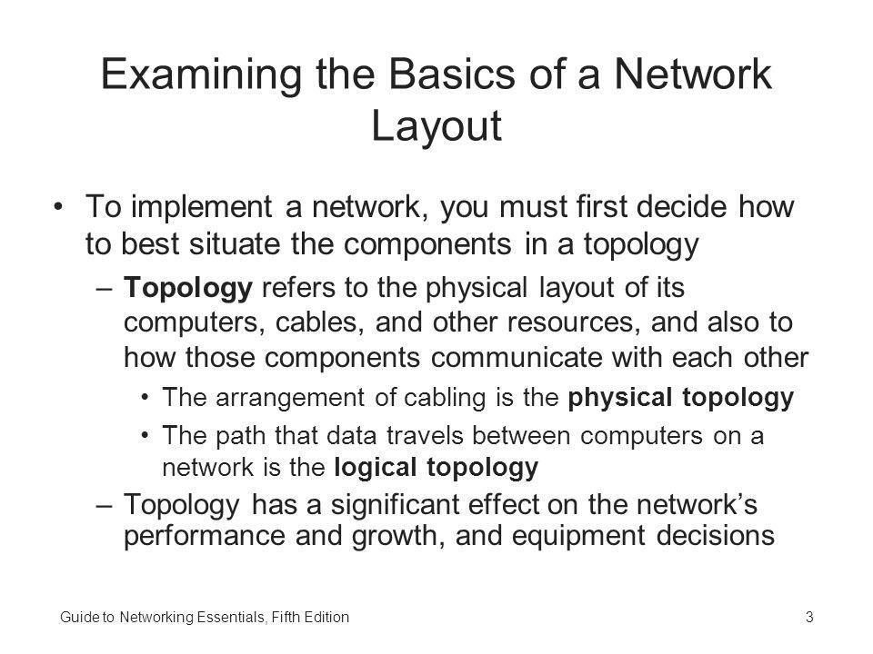 Examining the Basics of a Network Layout