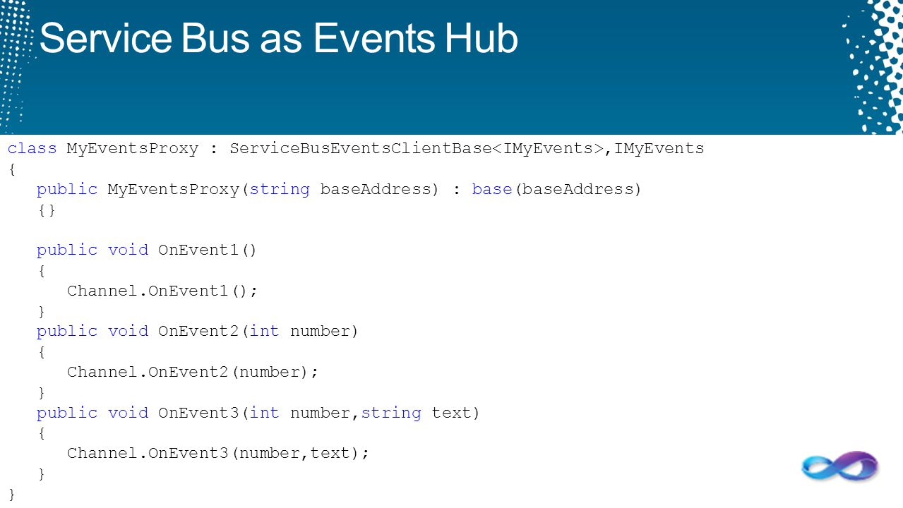 Service Bus as Events Hub