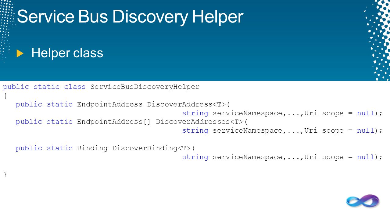 Service Bus Discovery Helper