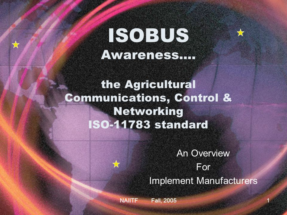 ISOBUS An Overview For Implement Manufacturers