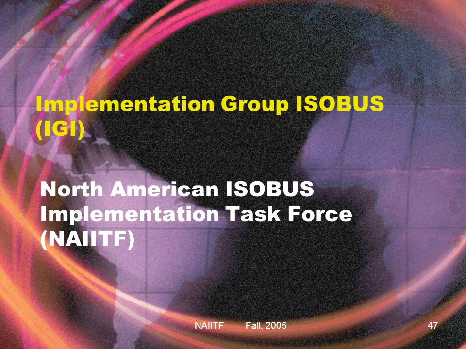 Implementation Group ISOBUS (IGI)