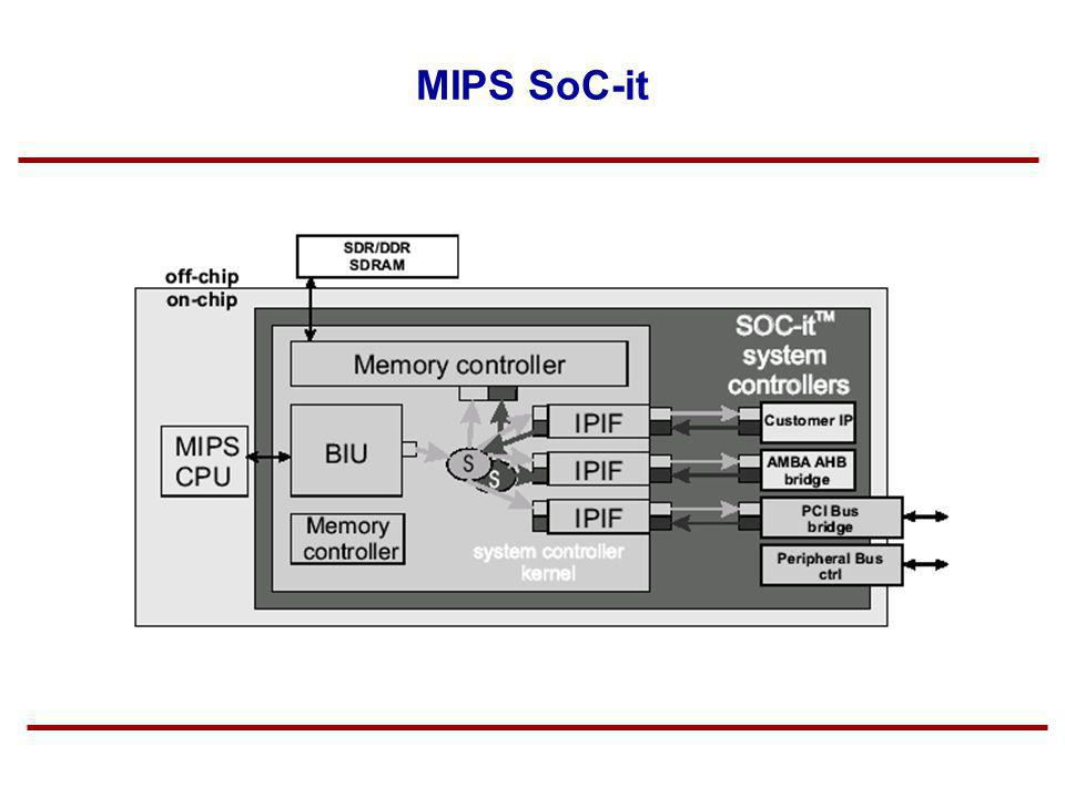 MIPS SoC-it