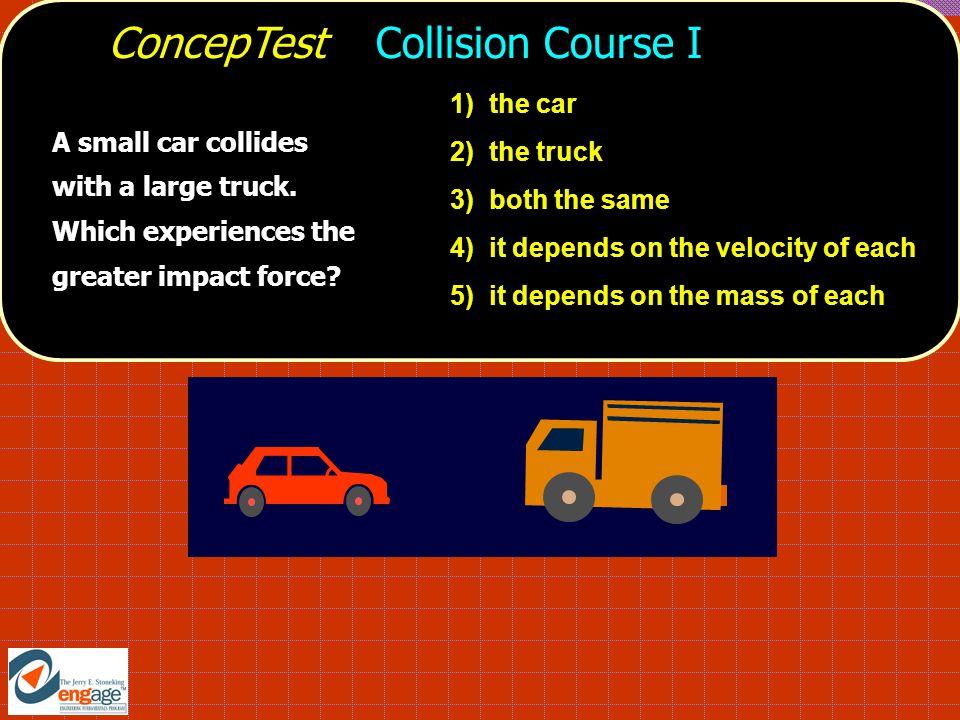 ConcepTest Collision Course I