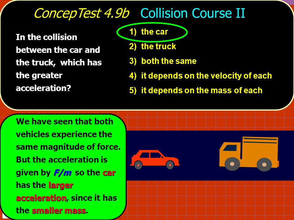 ConcepTest 4.9b Collision Course II