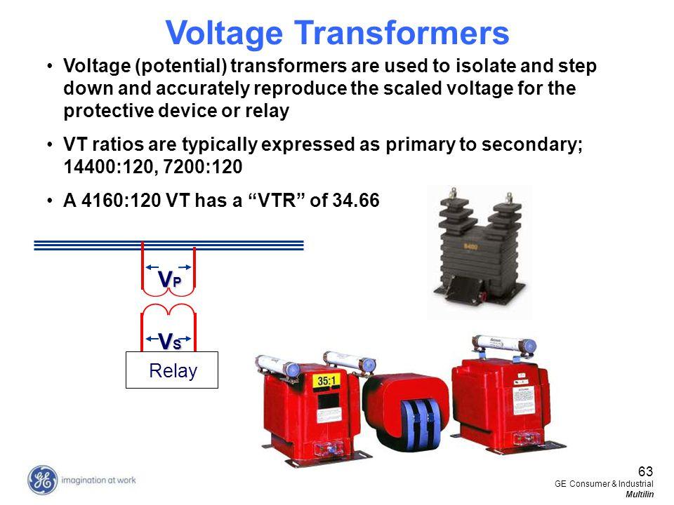 Voltage Transformers VP VS